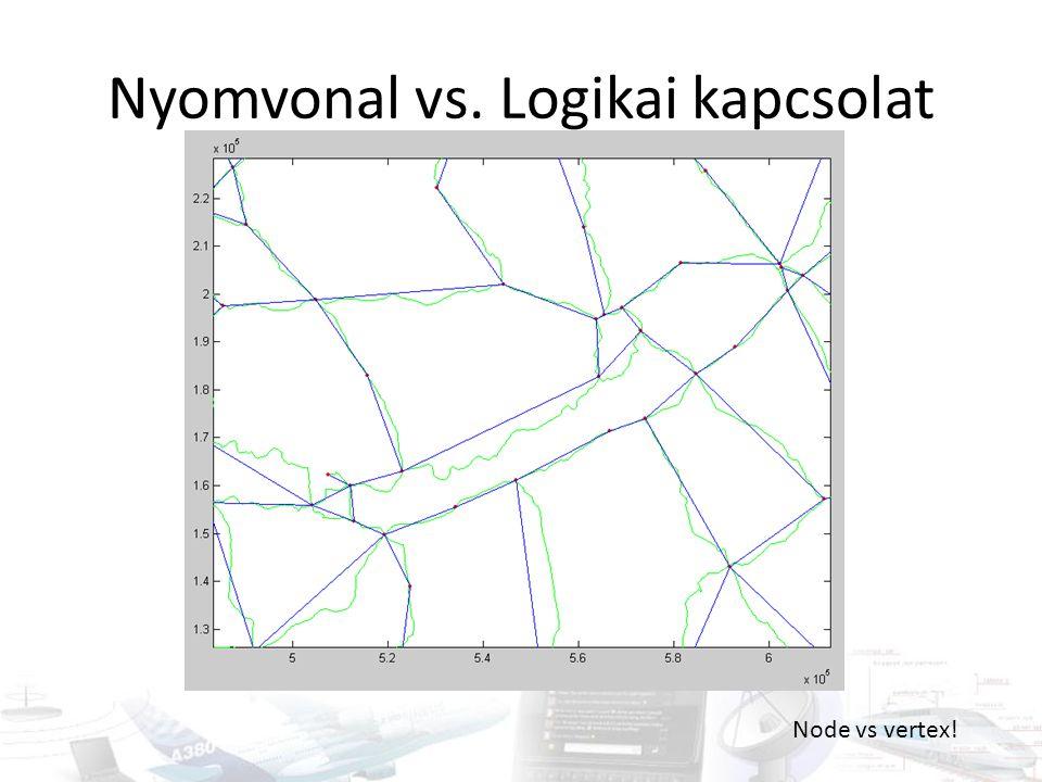 Nyomvonal vs. Logikai kapcsolat