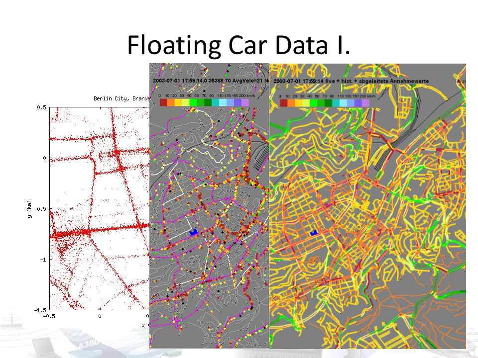 Floating Car Data I.
