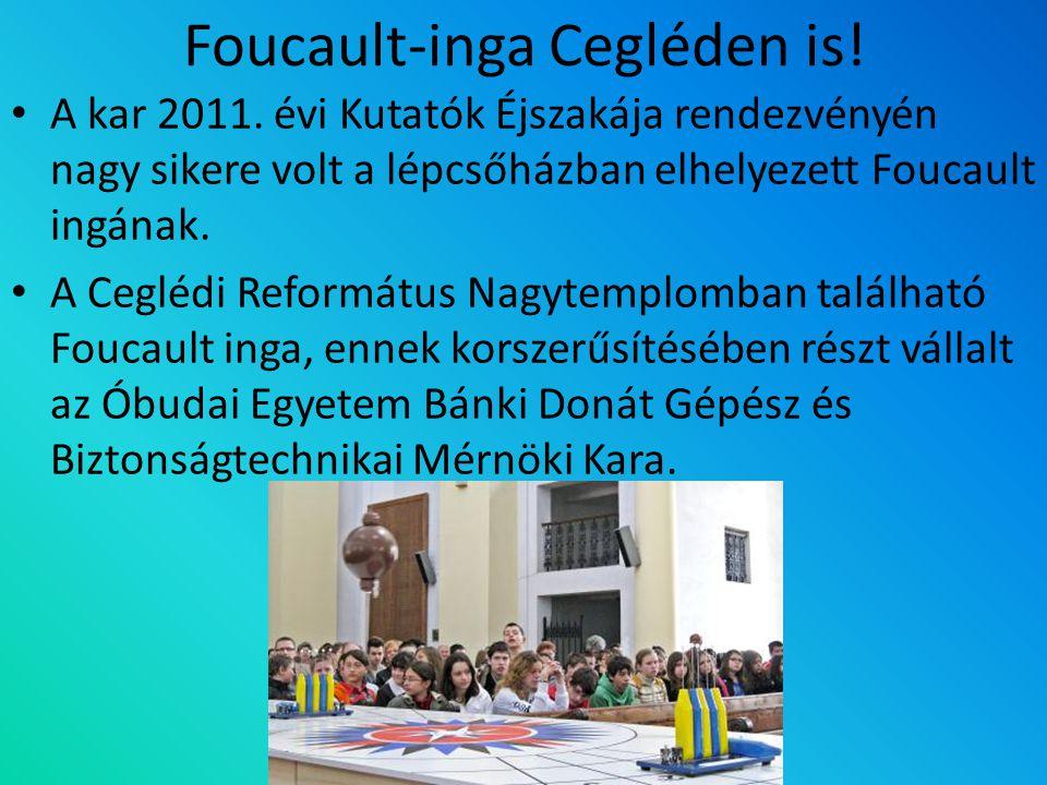 Foucault-inga Cegléden is!