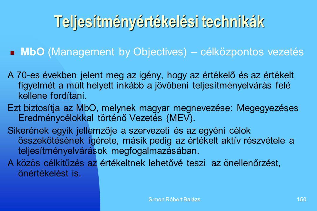 Teljesítményértékelési technikák