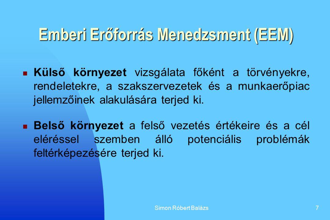 Emberi Erőforrás Menedzsment (EEM)