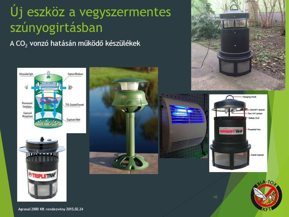 Új eszköz a vegyszermentes szúnyogirtásban