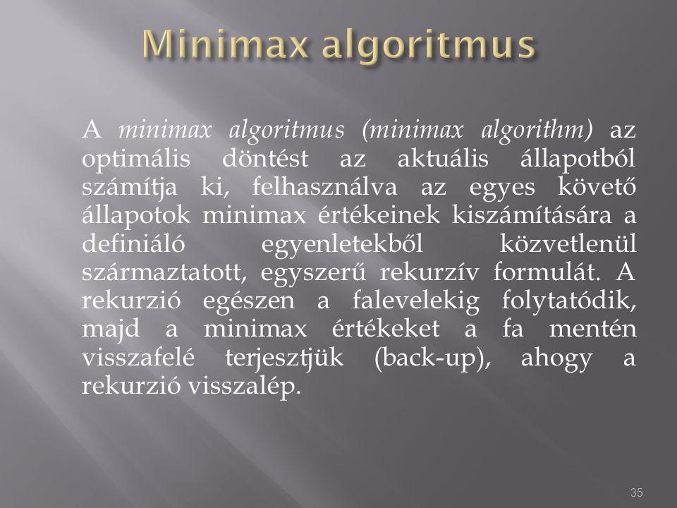 Minimax algoritmus