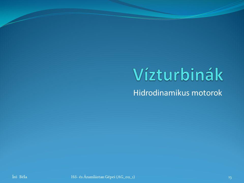 Hidrodinamikus motorok