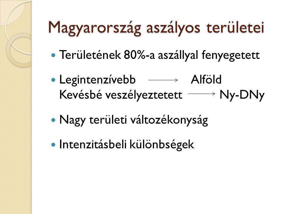 Magyarország aszályos területei