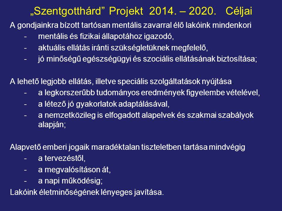 """""""Szentgotthárd Projekt 2014. – 2020. Céljai"""