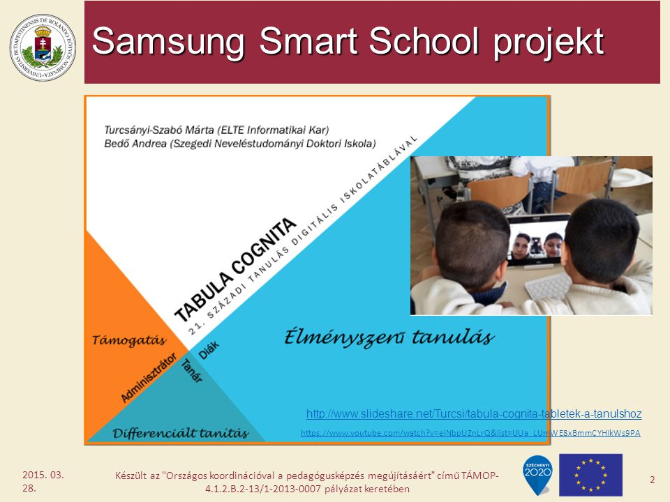 Samsung Smart School projekt