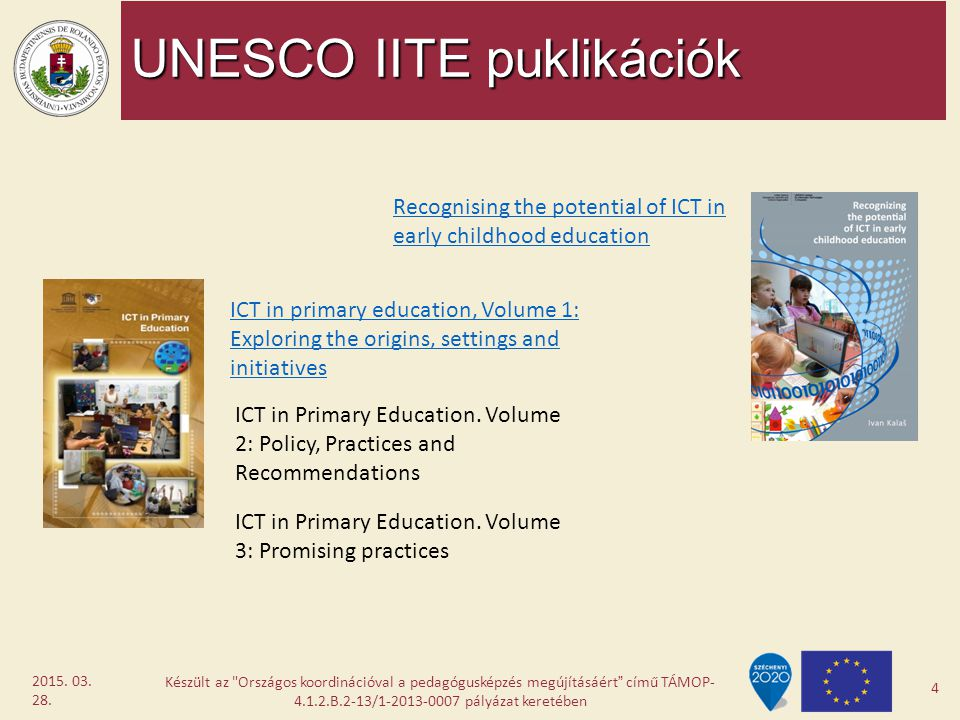 UNESCO IITE puklikációk