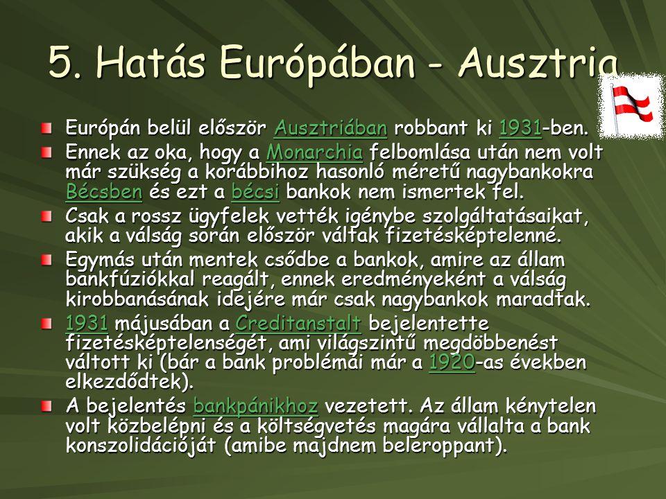5. Hatás Európában - Ausztria
