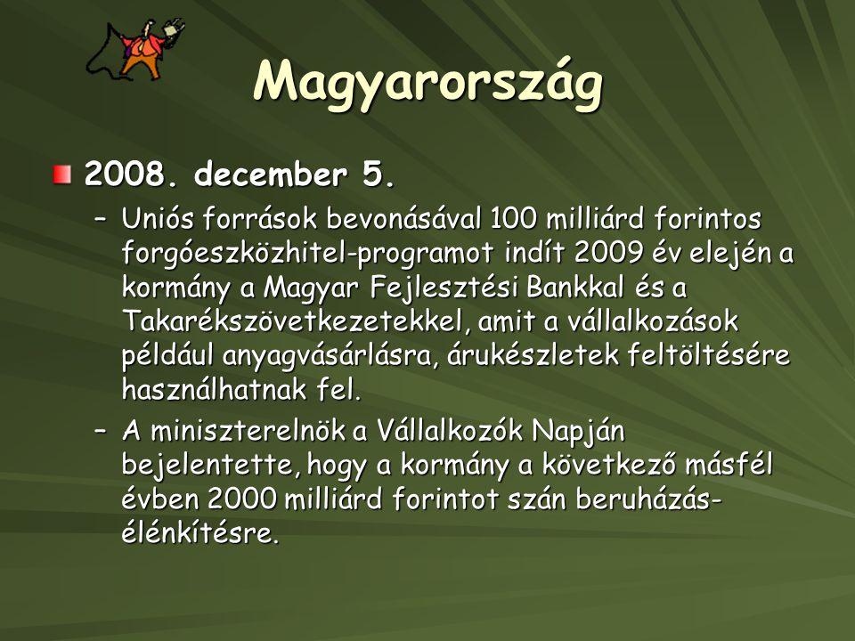 Magyarország 2008. december 5.