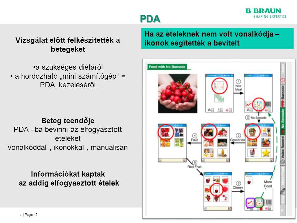 PDA Ha az ételeknek nem volt vonalkódja – ikonok segítették a bevitelt