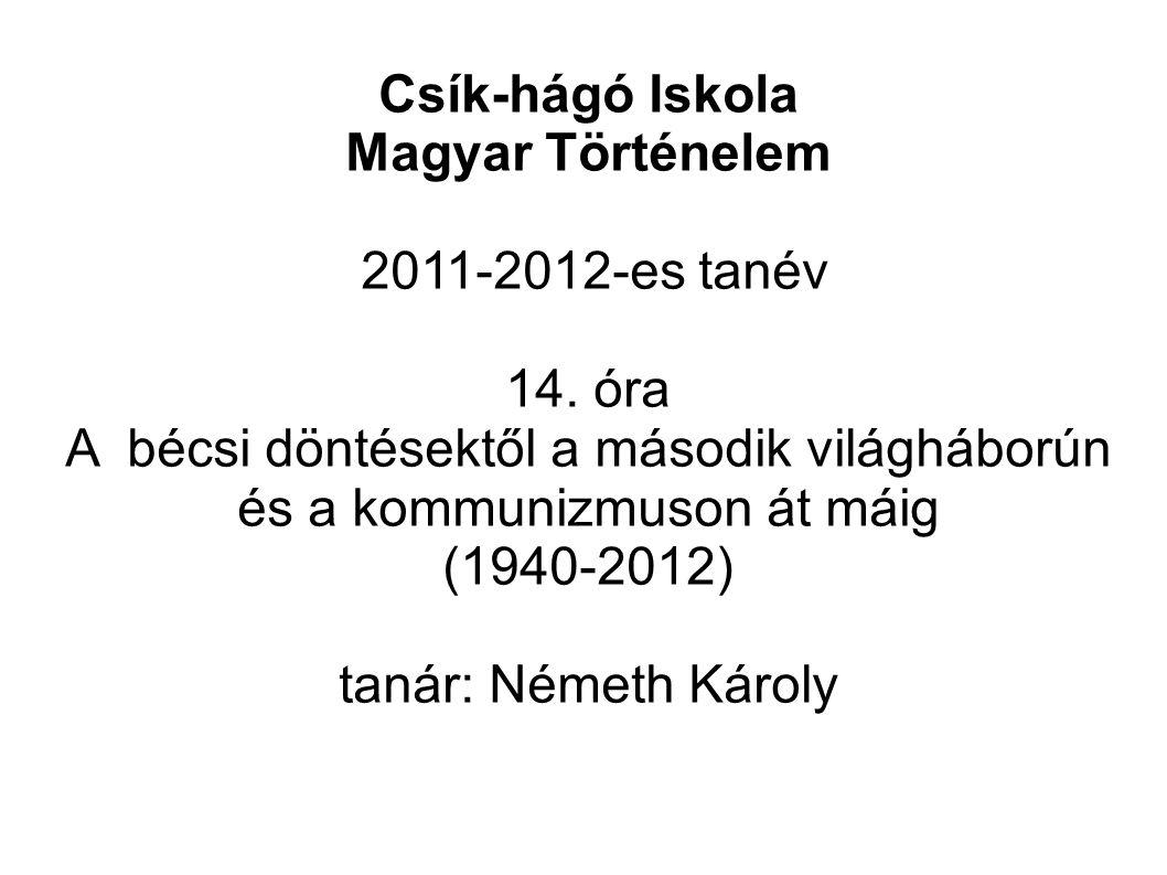Csík-hágó Iskola Magyar Történelem