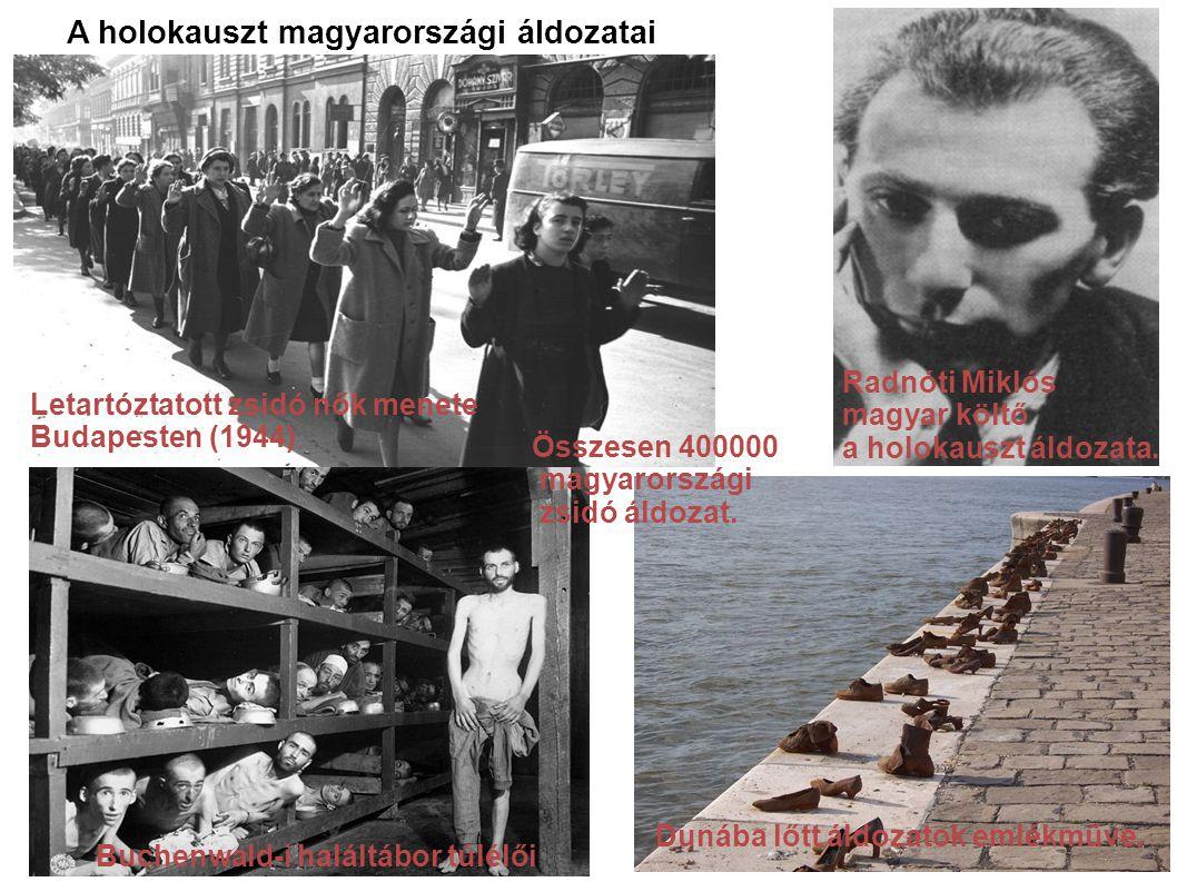 A holokauszt magyarországi áldozatai
