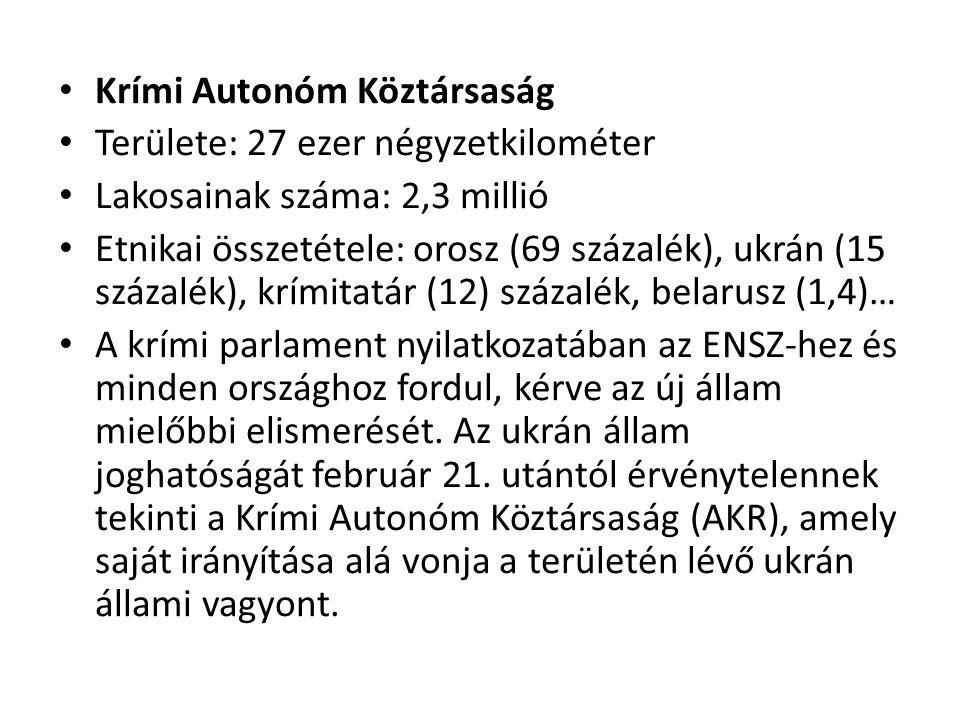 Krími Autonóm Köztársaság
