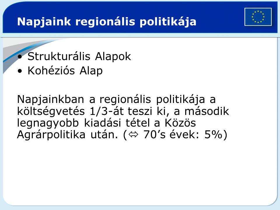 Napjaink regionális politikája