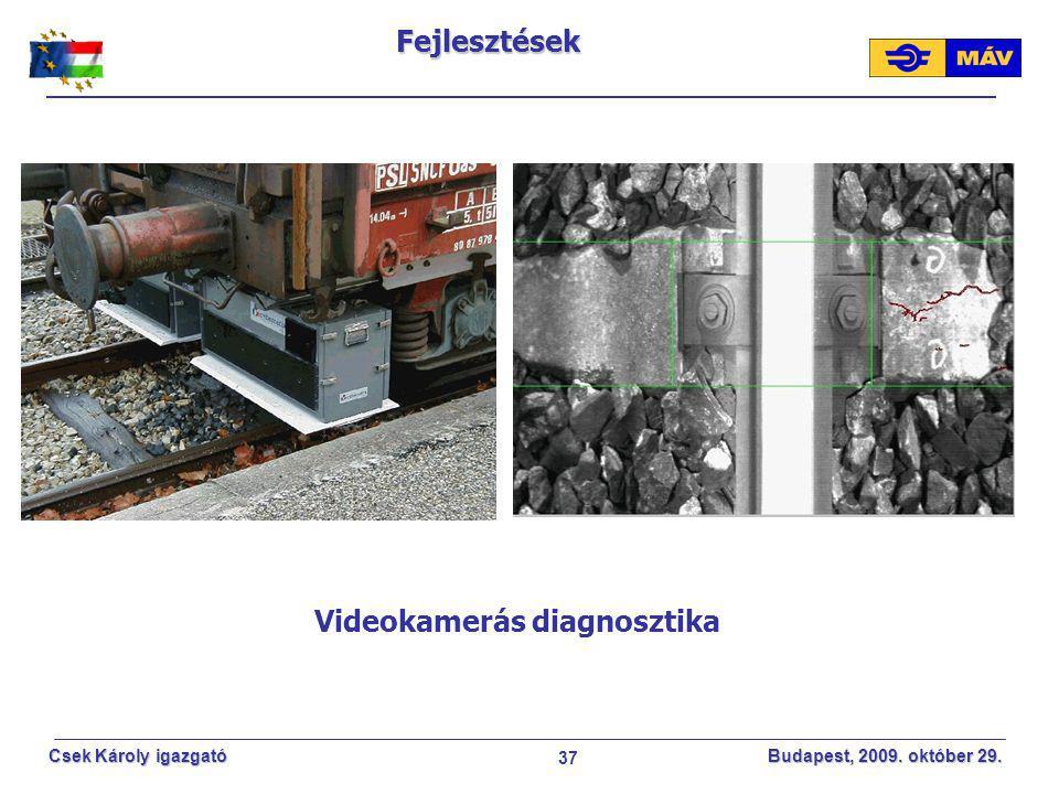 Videokamerás diagnosztika