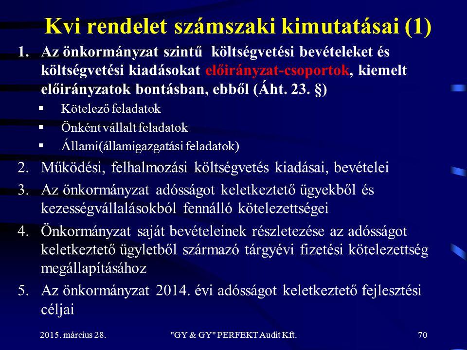 Kvi rendelet számszaki kimutatásai (1)
