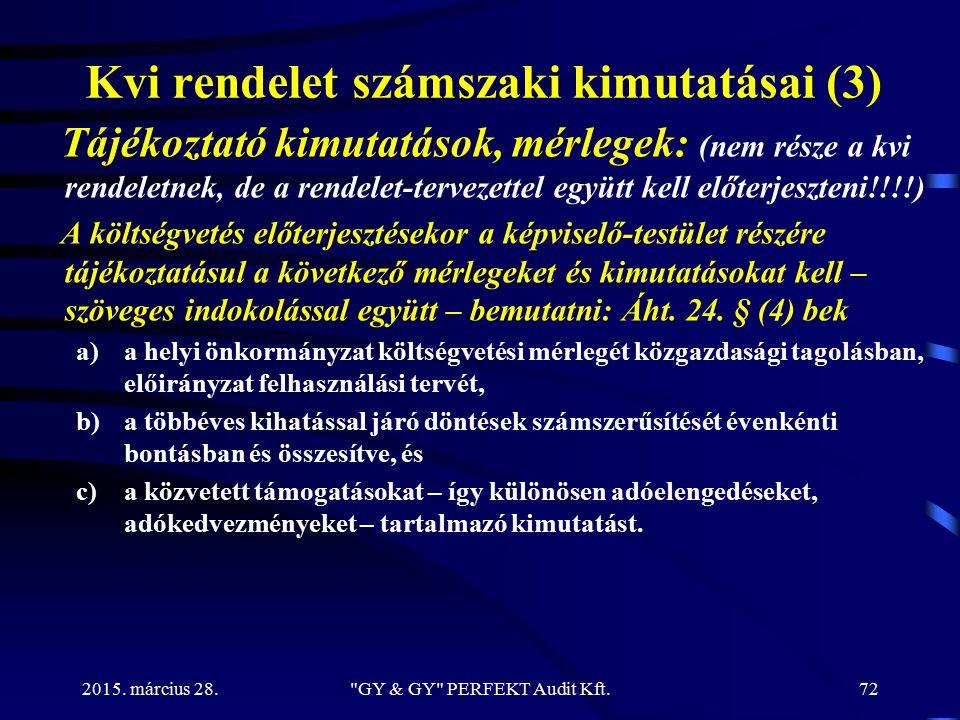 Kvi rendelet számszaki kimutatásai (3)