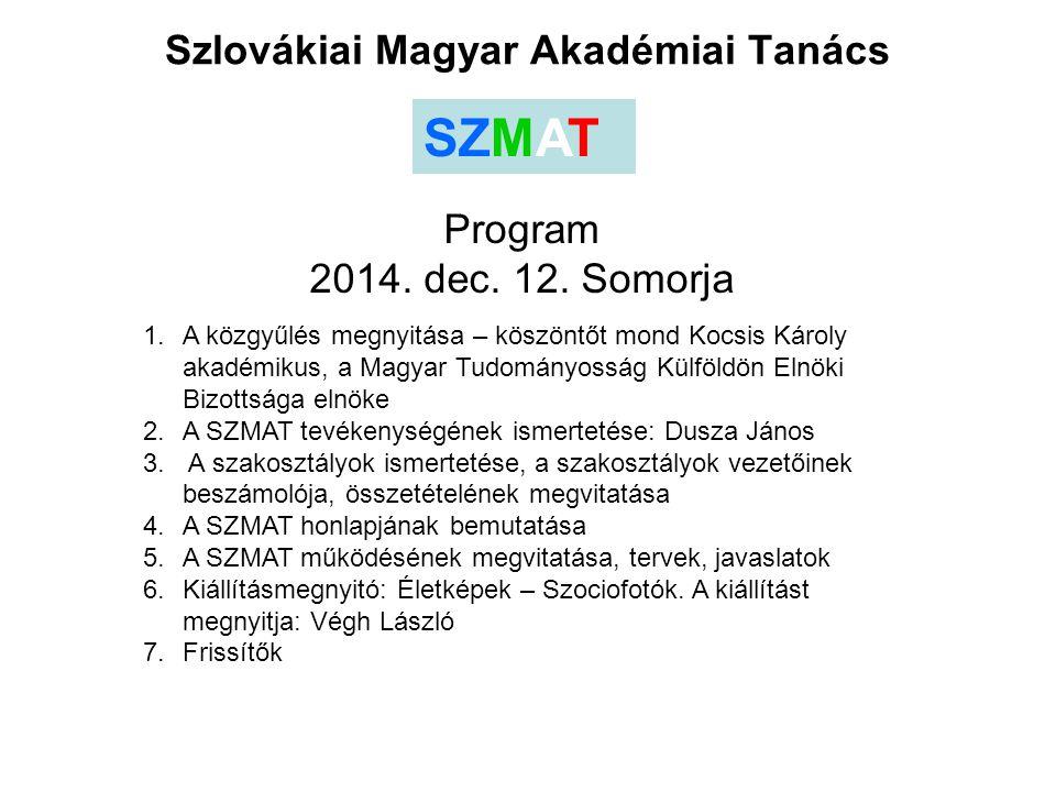 Szlovákiai Magyar Akadémiai Tanács