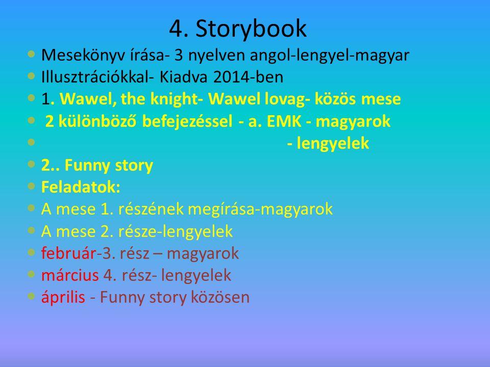4. Storybook Mesekönyv írása- 3 nyelven angol-lengyel-magyar