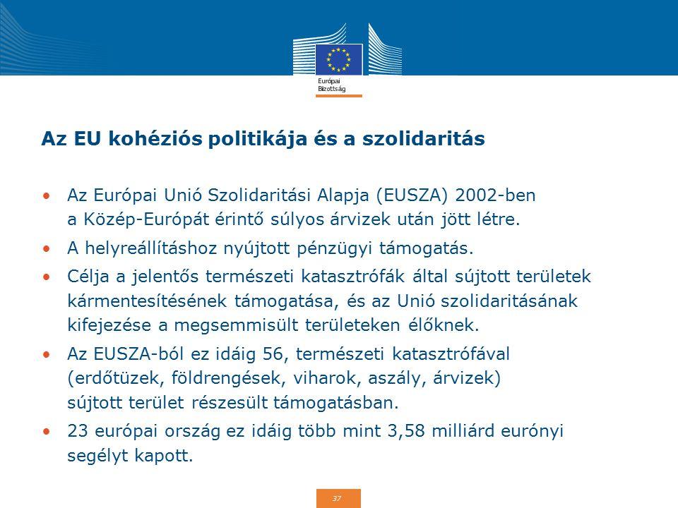 Az EU kohéziós politikája és a szolidaritás