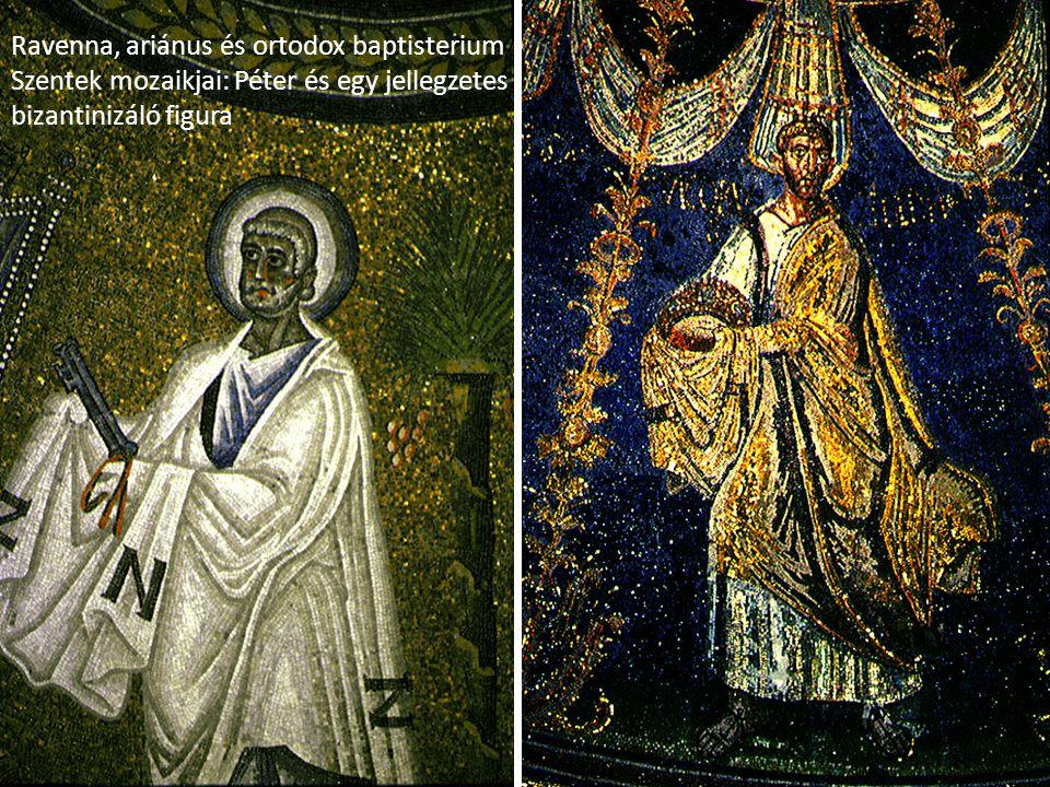 Ravenna, ariánus és ortodox baptisterium