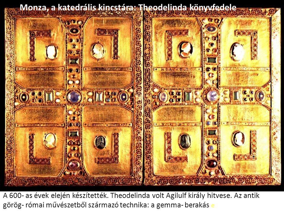 Monza, a katedrális kincstára: Theodelinda könyvfedele