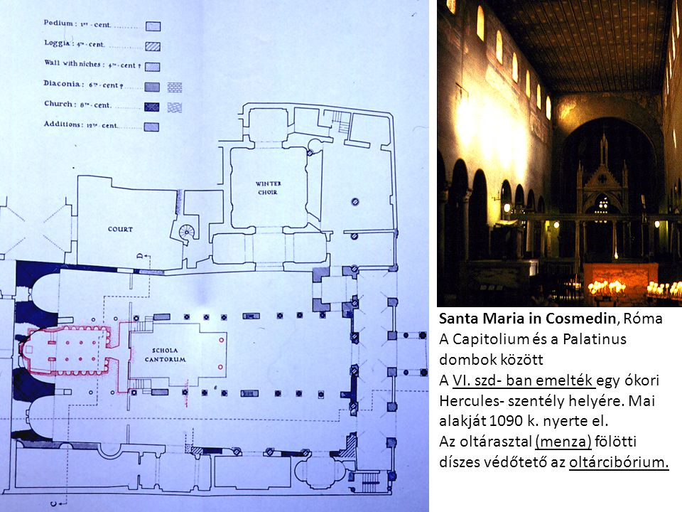 Santa Maria in Cosmedin, Róma