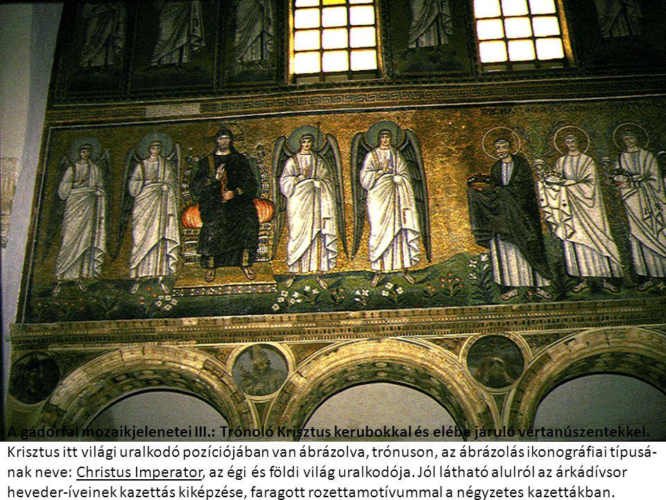 A gádorfal mozaikjelenetei III
