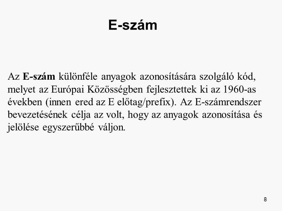 E-szám