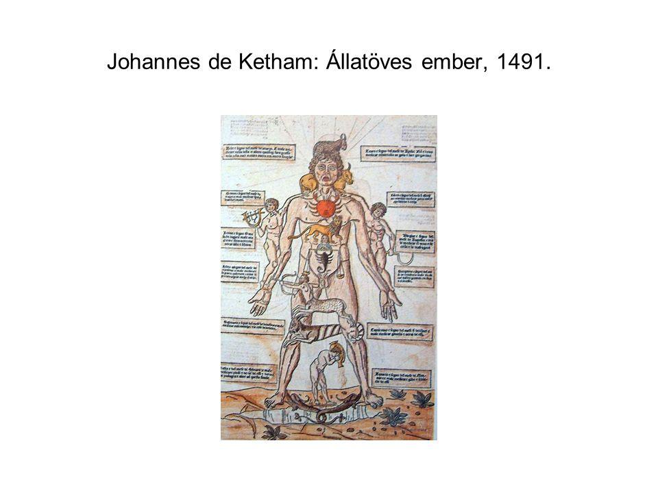 Johannes de Ketham: Állatöves ember, 1491.
