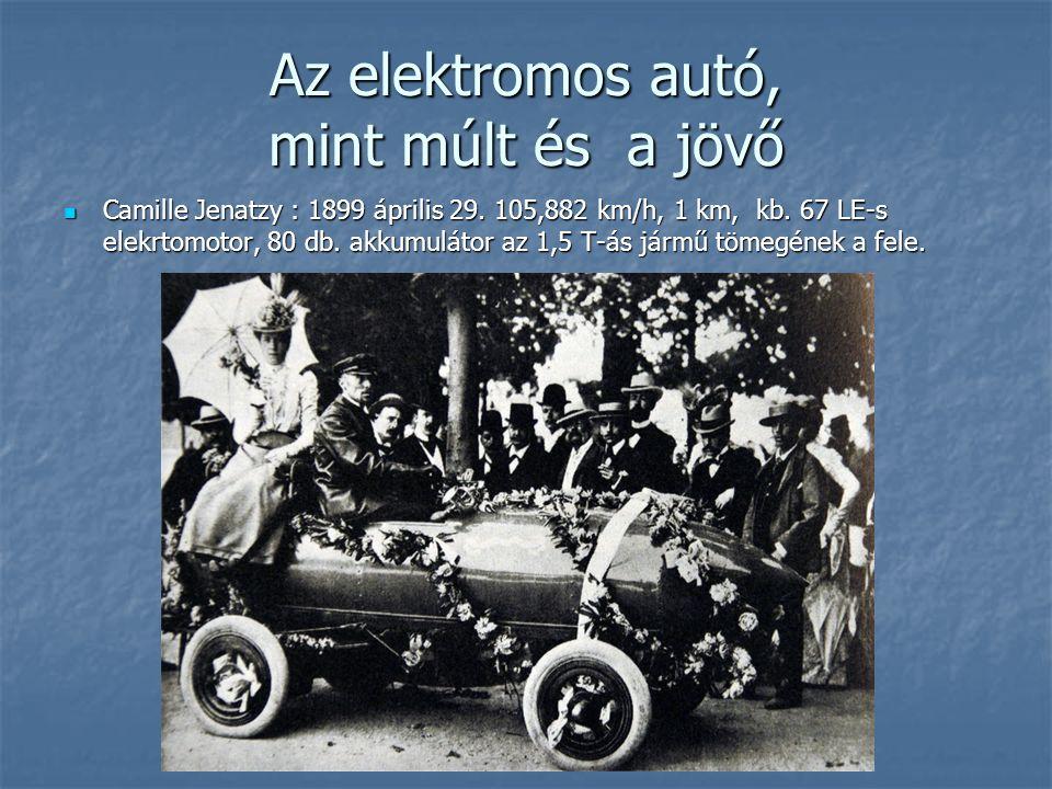 Az elektromos autó, mint múlt és a jövő