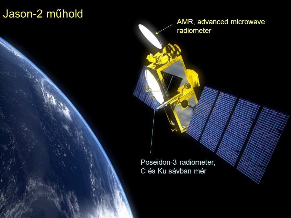 Jason-2 műhold AMR, advanced microwave radiometer