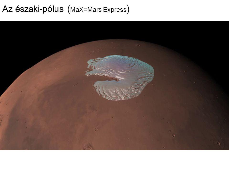 Az északi-pólus (MaX=Mars Express)