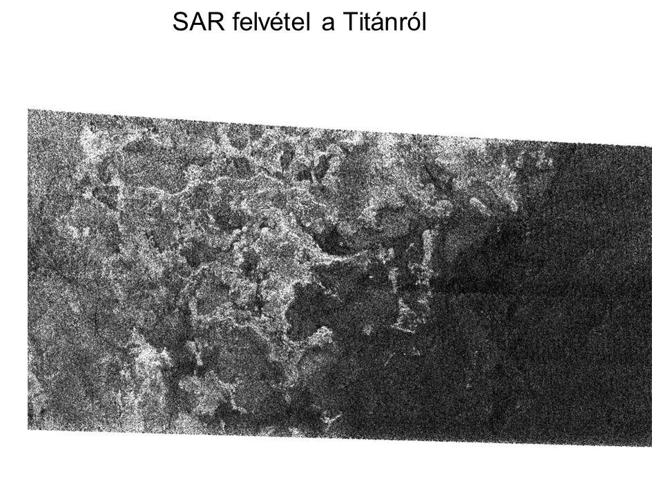 SAR felvétel a Titánról