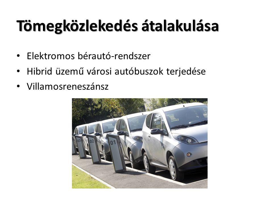 Tömegközlekedés átalakulása