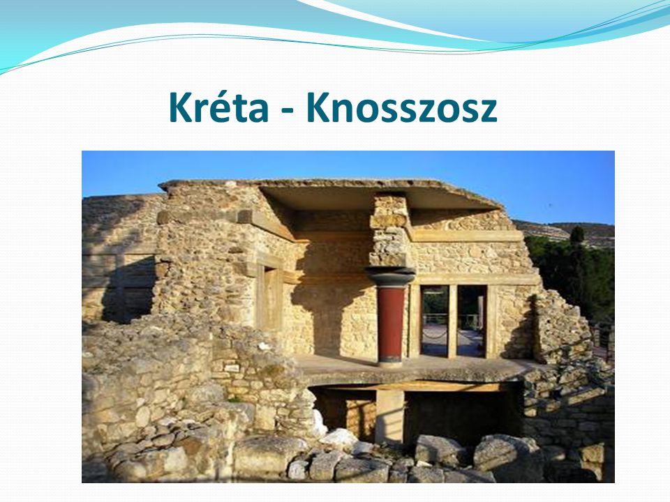 Kréta - Knosszosz