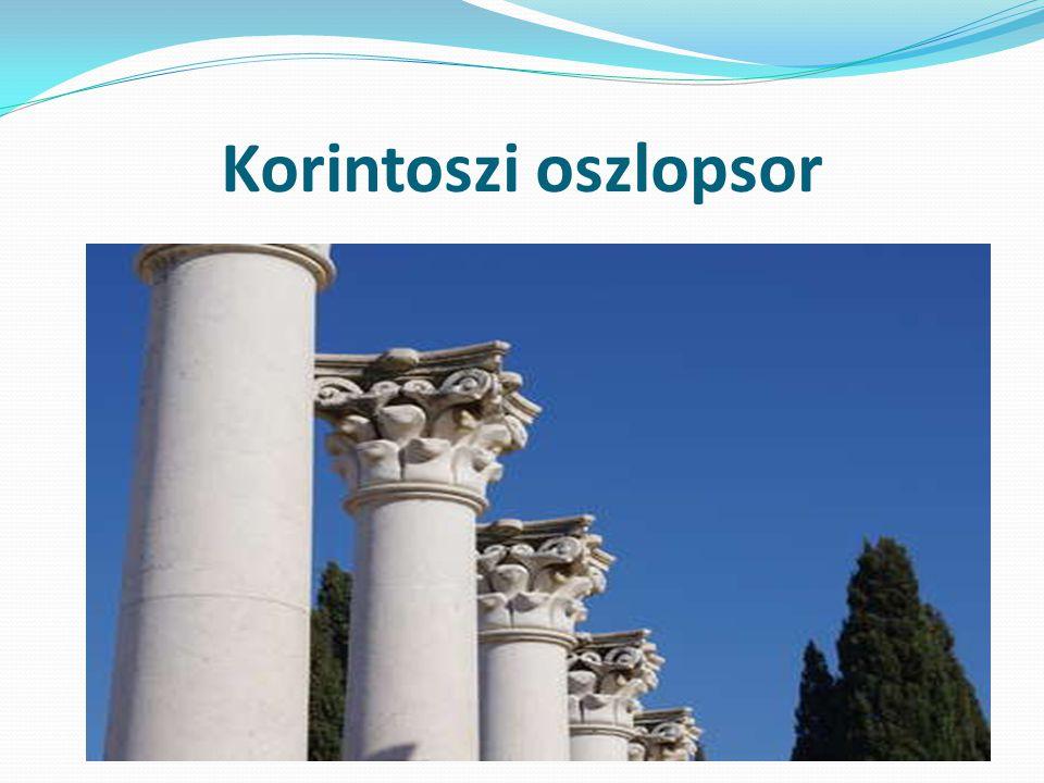 Korintoszi oszlopsor