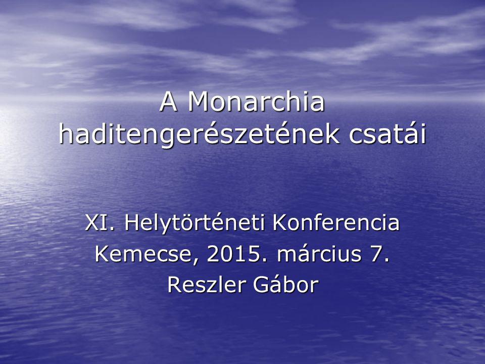 A Monarchia haditengerészetének csatái