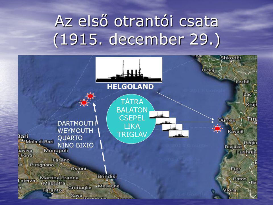 Az első otrantói csata (1915. december 29.)