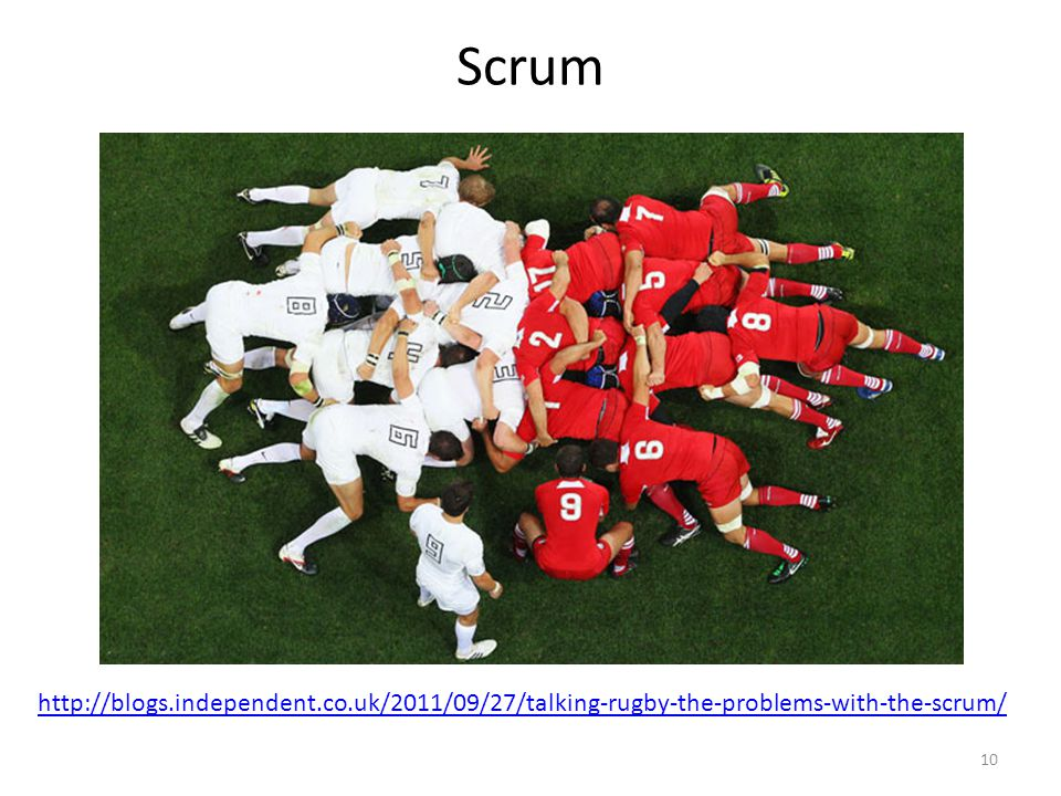 Scrum http://blogs.independent.co.uk/2011/09/27/talking-rugby-the-problems-with-the-scrum/