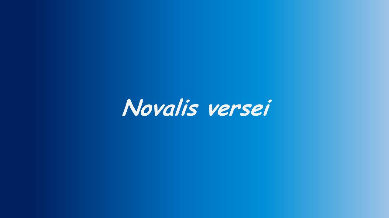 Novalis versei