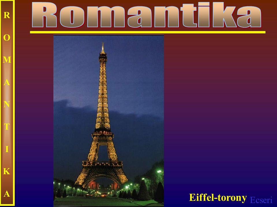 Romantika ROMANTIKA Eiffel-torony