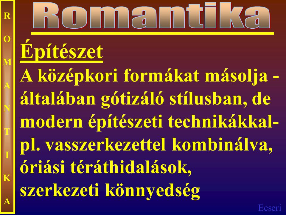 Romantika ROMANTIKA.