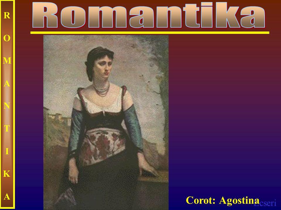 Romantika ROMANTIKA Corot: Agostina