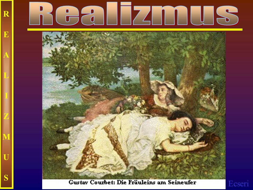 Realizmus REALIZMUS