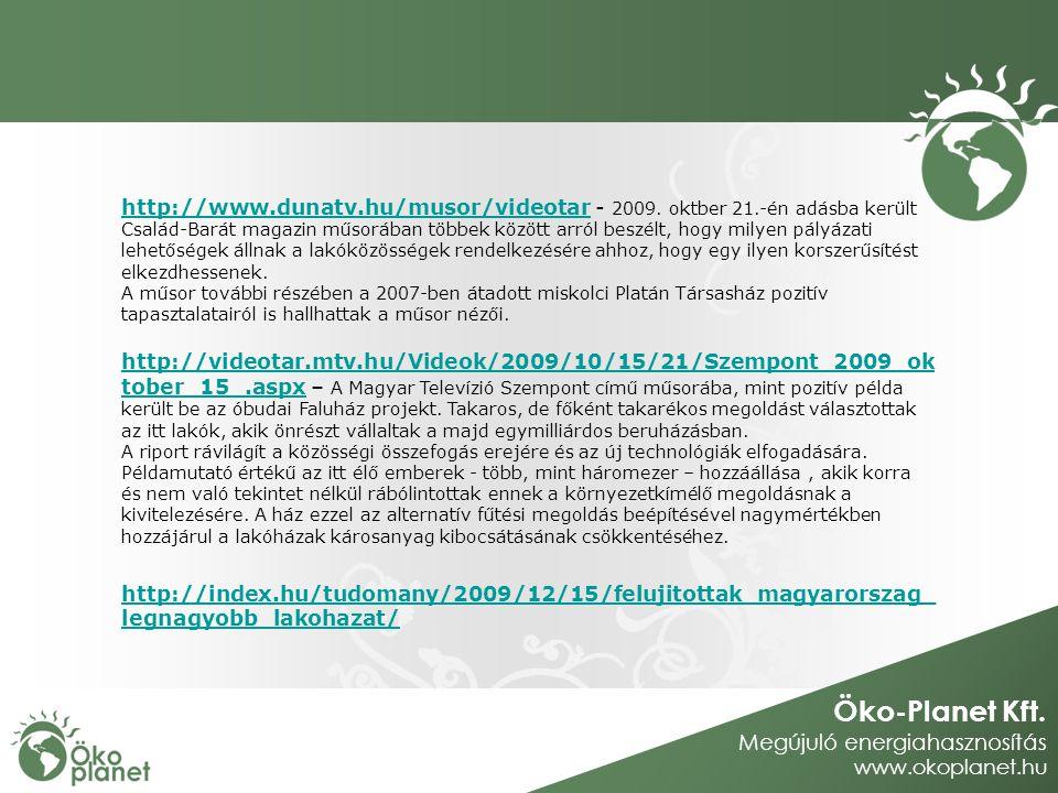 http://www. dunatv. hu/musor/videotar - 2009. oktber 21