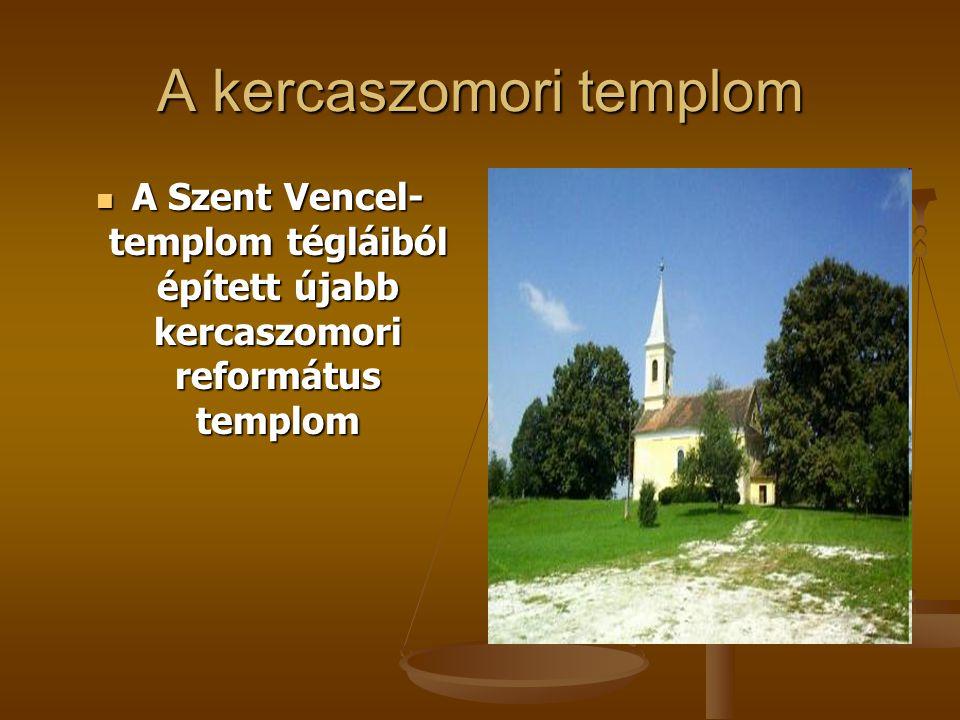 A kercaszomori templom