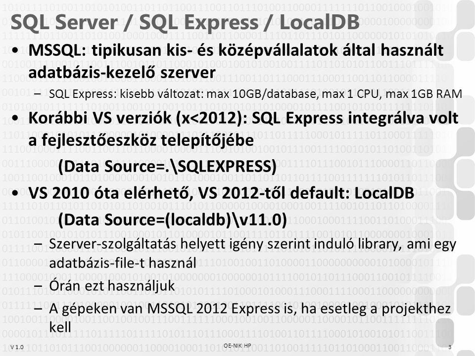SQL Server / SQL Express / LocalDB