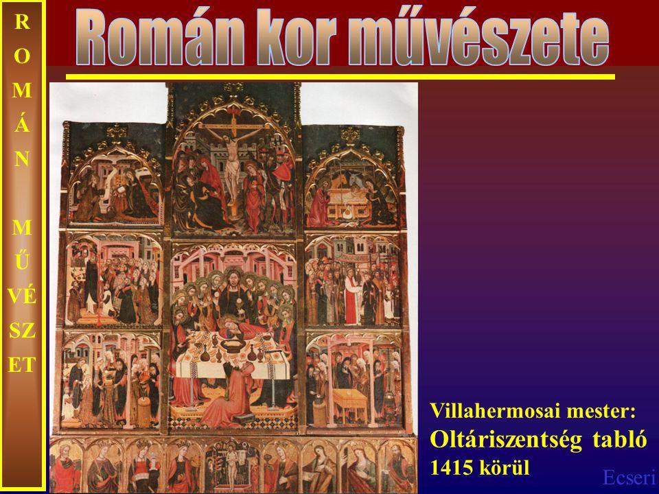 Román kor művészete ROMÁN MŰVÉSZET